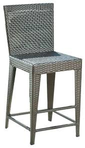 outdoor wicker bar stools canada rattan stool patio chair cushions kitchen engaging