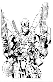Small Picture Deadpool Coloring Pages Free Printablejpg Coloring Pages Clarknews