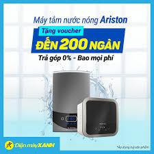 Điện máy XANH (dienmayxanh.com) - Máy Tắm Nước Nóng Ariston 🎁 Tặng Ngay  Voucher trị giá đến 200 ngàn 👌 Trả góp 0% bao trọn mọi phí 🚛 Giao nhanh  tận nơi