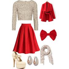 A fashion look from November 2014 featuring Alice + Olivia tops, Chicwish  skirts and Qupid