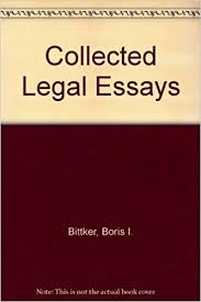 collected legal essays boris i bittker  collected legal essays boris i bittker 9780837703589 com books