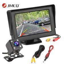 JMCQ 4,3 дюймовый TFT ЖК <b>монитор</b> для автомобиля <b>монитор</b> ...