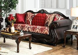 quality furniture federal way quality rugs home furnishings federal y burdy fabric brown leatherette sofa w