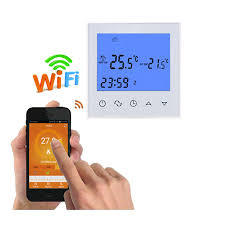 wifi heating thermostat remote control for electric floor 1216a underfloor infrared heater temperature heated floor thermostat o54