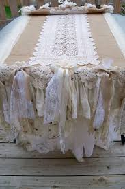 Burlap Round Table Overlays 1000 Images About Wedding Table Decor On Pinterest Lace Table
