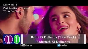 Bollywood Top Chart 2017 Top 10 Hindi Songs Of The Week 4 March 2017 Bollywood