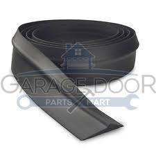 garage door bottom t rubber seals 3 4 and 6 1 10 ft garage door parts mart