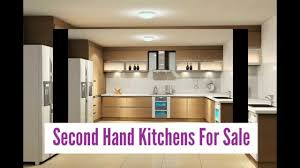 Second Hand Kitchen Furniture Commerical Second Hand Kitchens For Sale Youtube