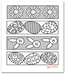 Free, printable easter coloring pages are fun! Free Printable Easter Coloring Bookmarks Instant Download Four Designs Coloring Bookmarks Coloring Bookmarks Free Easter Printables Free
