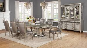 glass dining room set. Nice Looking Extendable Glass Dining Table Set Within Room And Chairs