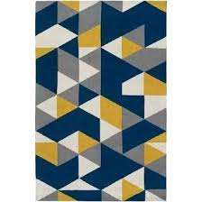 artistic weavers joan6087 35 joan fulton navy blue and yellow and blue yellow rug blue and