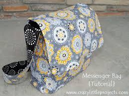 Messenger Bag Pattern Best Messenger Bag Tutorial And Pattern Craft Sewing Ideas