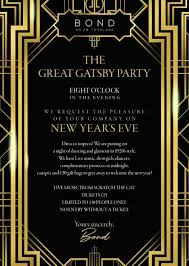 Great Gatsby Invitation Template Great Gatsby Invitation Template In 2019 Great Gatsby