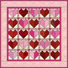 Hearts on Fire Quilt - Weekend Quilting Blog Hop   Blog, Half ... & Hearts on Fire Quilt - Weekend Quilting Blog Hop   Blog, Half square  triangles and Patchwork Adamdwight.com