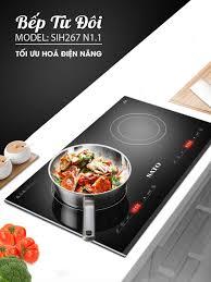 💥 Bếp từ đôi SATO SIH267 N1.1 ⭐️ Thiết... - Gia Dụng SATO -  Giadungsato.com