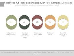 Imperatives Of Profit Seeking Behavior Ppt Samples Download