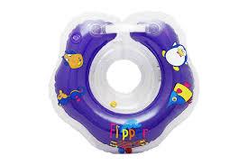 <b>Надувной круг</b> на <b>шею</b> для купания малышей Flipper 0+ с ...