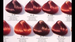 Red Hair Color Chart Loreal Best