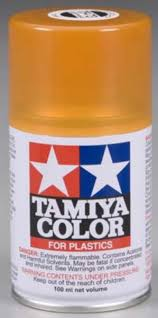 tamiya clear orange spray