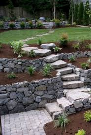 Stone Garden Path Ideas