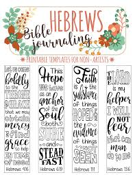 Art For Non Artists 35 Bible Journaling Verse Art Printable Templates For Non