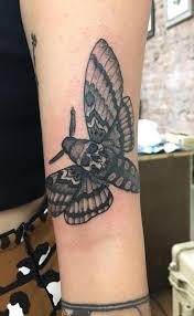 Deaths Head Hawkmoth By Richard Smith No Idols Tattoo Nyc Tattoos