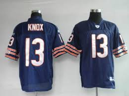 Nfl Bears Wholesale Jersey Knox Cheap 13 Stitched Blue Johnny