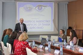 problems of gender equality discussed at round table at nasb institute of philosophy