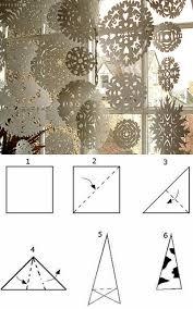 Kirigami Schneeflockenvorlagen Zum Schneiden Tfulerimcutk