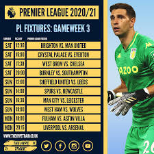 Preview and stats followed by live commentary, video highlights and match report. Premier League 2020 21 Fpl Gameweek 3 Fantasy Forecast