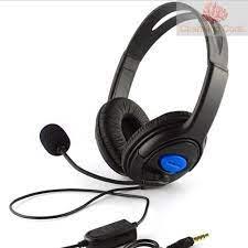 PC Tai Nghe Trùm Đầu Chơi Game Jack 3.5mm Có Mic Và Nút Điều Chỉnh Âm Lượng  - Tai nghe có dây chụp tai (On-Ear)