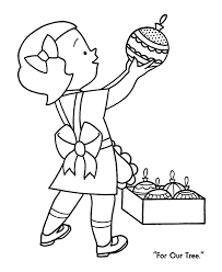 Small Picture Christmas Girl Coloring Pages New Outfit Christmas Coloring