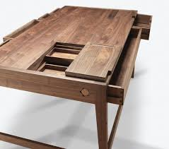 no s or glue in solid wood desk by wewood french oak desks throughout prepare 18
