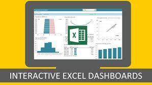 Udemy Dashboard Designing And Interactive Charts In Excel Excel With Interactive Excel Dashboards Udemy