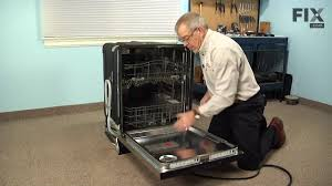 How To Repair Dishwasher Kitchenaid Dishwasher Repair How To Replace The Door Seal Youtube