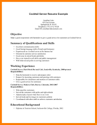 Waiter Resume Template Waitress Sample Resume 18 Waiters Resume