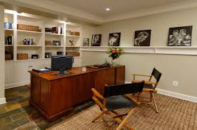 trendy office ideas home. Divine Basement Home Office Ideas On Peaceful Design Imposing Decoration Trendy