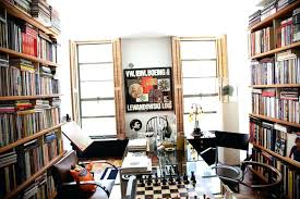 home library ideas home office. Small Home Library Neat Arrangements Of Contemporary Which Is Equipped With High Books Ideas Office
