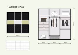 wardrobe template. to create elevation you can learn wardrobe template t