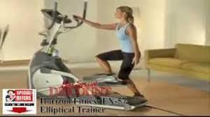 by capn america horizon fitness ex 59 02 elliptical trainer horizon fitness ex