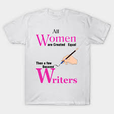 I am a writer shirt