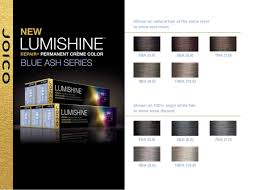 Joico Lumishine Blue Ash Series In 2019 Joico Hair Color