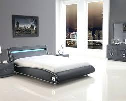 light wooden bedroom furnitures modern light. Modern Platform Bedroom Sets With Lights Grey Black Light Wooden Furnitures