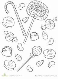 Small Picture chocolate candy coloring pages Valentines Day Online Coloring
