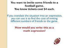 expressions equations or inequalities 2 you