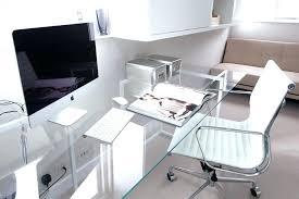 home office desks modern. Contemporary Home Office Desk Modern Glass Amazing  With . Desks G
