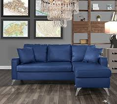 furniture bonded leather sectional sofa