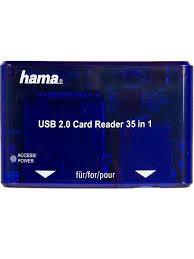 <b>Устройство</b> чтения карт памяти USB2.0 H-55348 <b>HAMA</b> ...