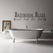 Framed Art Bathroom Bathroom Ideas Guest Bathroom Wall Decor With Stickers And Small