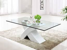 rectangular glass coffee table with unique base grey rug for living room tempered glass coffee